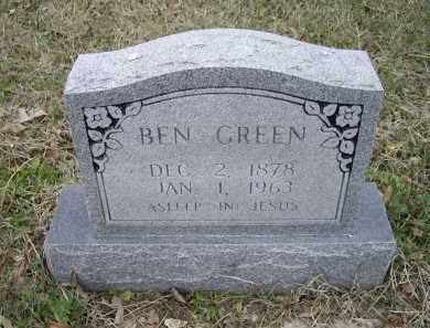 GREEN, BEN - Lawrence County, Arkansas | BEN GREEN - Arkansas Gravestone Photos