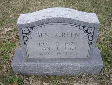GREEN, BEN - Lawrence County, Arkansas | BEN GREEN - Arkansas Gravestone Photos
