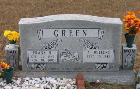 GREEN, FRANK HULLEN - Lawrence County, Arkansas | FRANK HULLEN GREEN - Arkansas Gravestone Photos