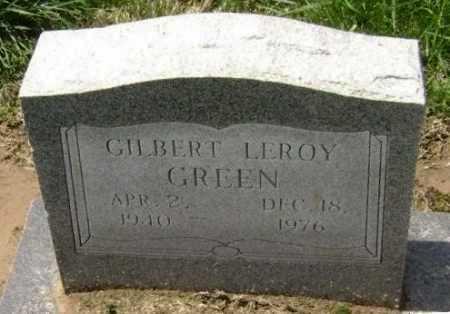 GREEN, GILBERT LEROY - Lawrence County, Arkansas | GILBERT LEROY GREEN - Arkansas Gravestone Photos
