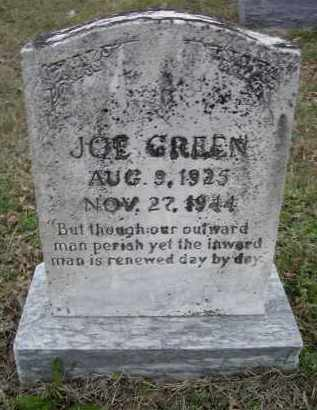 GREEN, JOE - Lawrence County, Arkansas   JOE GREEN - Arkansas Gravestone Photos