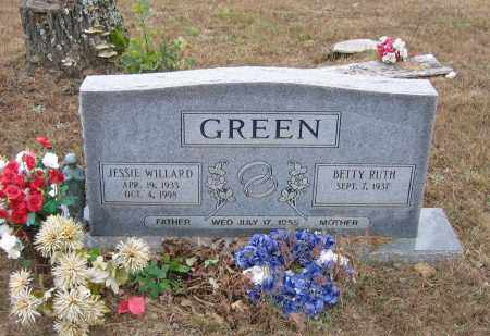 GREEN, JESSIE WILLARD - Lawrence County, Arkansas | JESSIE WILLARD GREEN - Arkansas Gravestone Photos