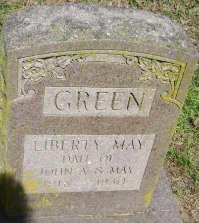 GREEN, LIBERTY MAY - Lawrence County, Arkansas | LIBERTY MAY GREEN - Arkansas Gravestone Photos