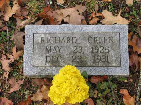 GREEN, RICHARD - Lawrence County, Arkansas | RICHARD GREEN - Arkansas Gravestone Photos