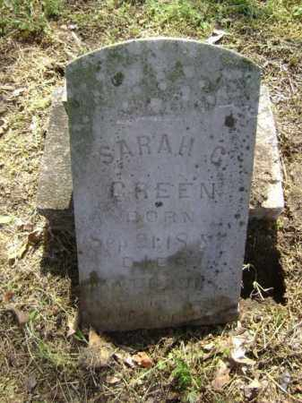 GREEN, SARAH C. - Lawrence County, Arkansas | SARAH C. GREEN - Arkansas Gravestone Photos