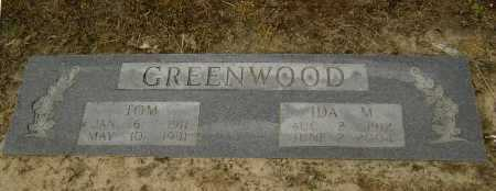 GREENWOOD, IDA M. - Lawrence County, Arkansas | IDA M. GREENWOOD - Arkansas Gravestone Photos