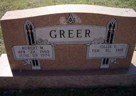 GREER, ROBERT MARION - Lawrence County, Arkansas | ROBERT MARION GREER - Arkansas Gravestone Photos
