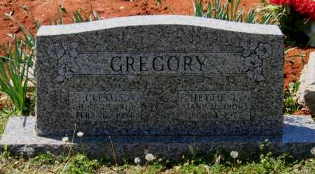 GREGORY, CLETUS B. - Lawrence County, Arkansas | CLETUS B. GREGORY - Arkansas Gravestone Photos