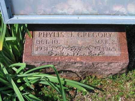GREGORY, PHYLIS J. - Lawrence County, Arkansas | PHYLIS J. GREGORY - Arkansas Gravestone Photos