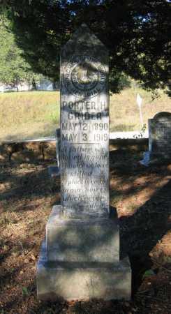 GRIDER, PORTER HENRY - Lawrence County, Arkansas | PORTER HENRY GRIDER - Arkansas Gravestone Photos