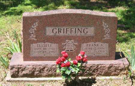 GRIFFING, LUCILLE - Lawrence County, Arkansas | LUCILLE GRIFFING - Arkansas Gravestone Photos