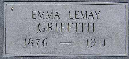 LEMAY GRIFFITH, EMMA - Lawrence County, Arkansas | EMMA LEMAY GRIFFITH - Arkansas Gravestone Photos