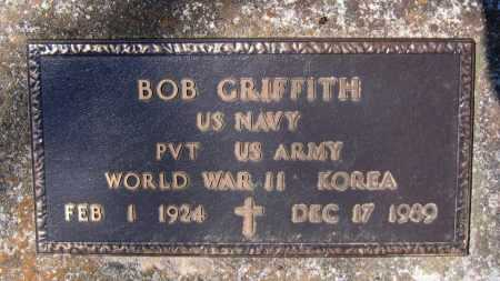 "GRIFFITH (VETERAN 2 WARS), GEORGE ROBERT ""BOB"" - Lawrence County, Arkansas 