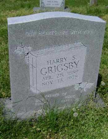 GRIGSBY, HARRY S. - Lawrence County, Arkansas | HARRY S. GRIGSBY - Arkansas Gravestone Photos