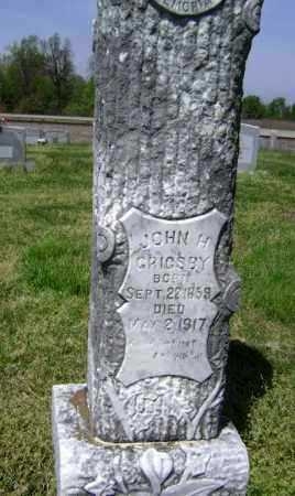 GRIGSBY, JOHN H. - Lawrence County, Arkansas | JOHN H. GRIGSBY - Arkansas Gravestone Photos