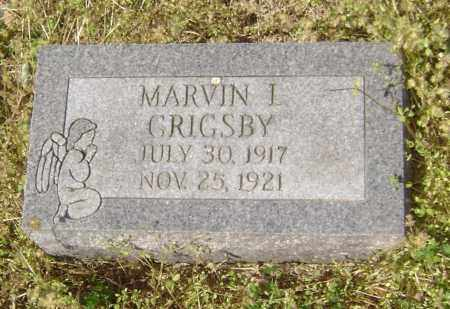 GRIGSBY, MARVIN I. - Lawrence County, Arkansas | MARVIN I. GRIGSBY - Arkansas Gravestone Photos