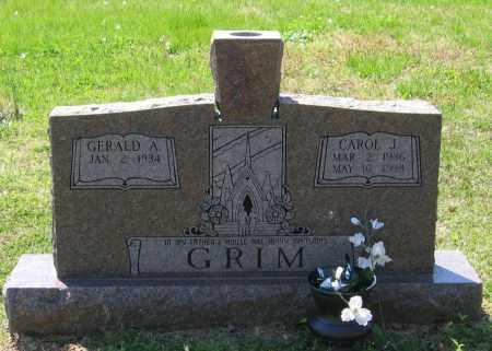 GRIM, CAROL J. - Lawrence County, Arkansas | CAROL J. GRIM - Arkansas Gravestone Photos