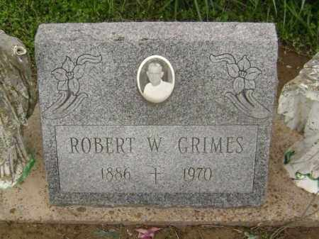 GRIMES, ROBERT W. - Lawrence County, Arkansas | ROBERT W. GRIMES - Arkansas Gravestone Photos