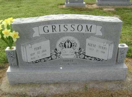 GRISSOM, FERD - Lawrence County, Arkansas | FERD GRISSOM - Arkansas Gravestone Photos