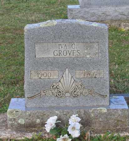 GROVES, IVA C. - Lawrence County, Arkansas | IVA C. GROVES - Arkansas Gravestone Photos