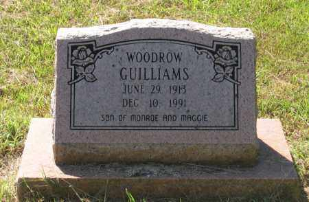 GUILLIAMS, WOODROW - Lawrence County, Arkansas | WOODROW GUILLIAMS - Arkansas Gravestone Photos