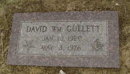 GULLETT, DAVID WILLIAM - Lawrence County, Arkansas | DAVID WILLIAM GULLETT - Arkansas Gravestone Photos