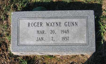 GUNN, ROGER WAYNE - Lawrence County, Arkansas | ROGER WAYNE GUNN - Arkansas Gravestone Photos