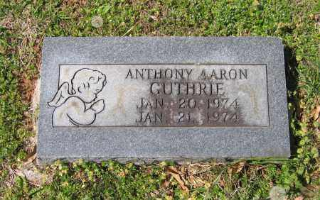 GUTHRIE, ANTHONY AARON - Lawrence County, Arkansas | ANTHONY AARON GUTHRIE - Arkansas Gravestone Photos