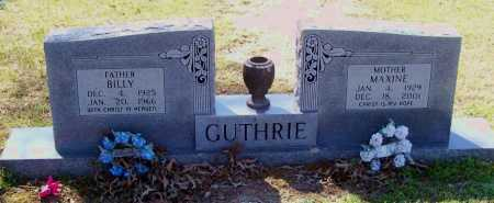 GUTHRIE, BILLY JOE - Lawrence County, Arkansas | BILLY JOE GUTHRIE - Arkansas Gravestone Photos
