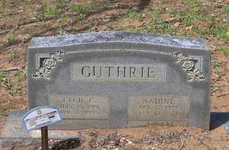 GUTHRIE, CECIL CARRINGTON - Lawrence County, Arkansas | CECIL CARRINGTON GUTHRIE - Arkansas Gravestone Photos