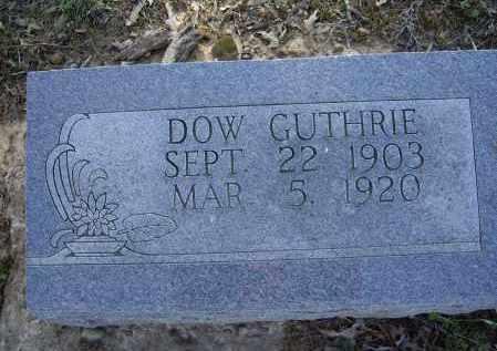 GUTHRIE, DOW - Lawrence County, Arkansas | DOW GUTHRIE - Arkansas Gravestone Photos