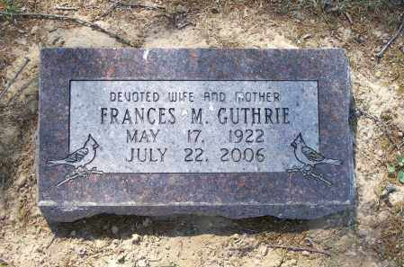 GUTHRIE, FRANCES - Lawrence County, Arkansas | FRANCES GUTHRIE - Arkansas Gravestone Photos