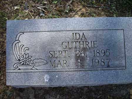 GUTHRIE, IDA - Lawrence County, Arkansas | IDA GUTHRIE - Arkansas Gravestone Photos
