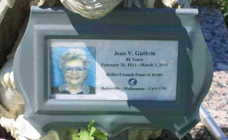 GUTHRIE, JEAN V. - Lawrence County, Arkansas | JEAN V. GUTHRIE - Arkansas Gravestone Photos