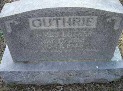 GUTHRIE, JAMES LUTHER - Lawrence County, Arkansas | JAMES LUTHER GUTHRIE - Arkansas Gravestone Photos