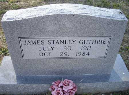 GUTHRIE, JAMES STANLEY - Lawrence County, Arkansas | JAMES STANLEY GUTHRIE - Arkansas Gravestone Photos
