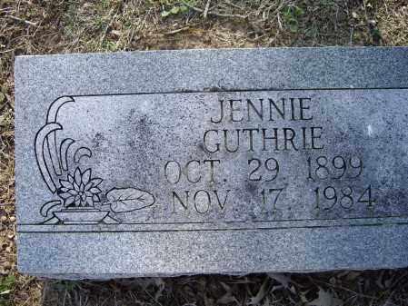 GUTHRIE, JENNIE MAE - Lawrence County, Arkansas | JENNIE MAE GUTHRIE - Arkansas Gravestone Photos