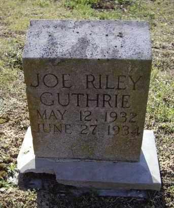 GUTHRIE, JOE RILEY - Lawrence County, Arkansas | JOE RILEY GUTHRIE - Arkansas Gravestone Photos