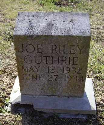 GUTHRIE, JOE RILEY - Lawrence County, Arkansas | JOE RILEY GUTHRIE - Arkansas Gravestone Photos