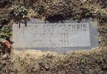 GUTHRIE, JONNIE SUE - Lawrence County, Arkansas | JONNIE SUE GUTHRIE - Arkansas Gravestone Photos