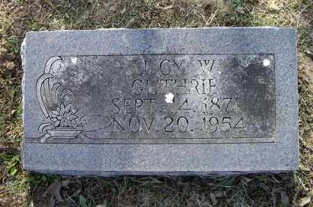 TAYLOR GUTHRIE, LUCY WALKER - Lawrence County, Arkansas | LUCY WALKER TAYLOR GUTHRIE - Arkansas Gravestone Photos