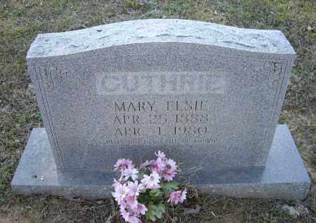 ZEEK GUTHRIE, MARY ELSIE - Lawrence County, Arkansas | MARY ELSIE ZEEK GUTHRIE - Arkansas Gravestone Photos