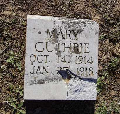 GUTHRIE, MARY OPHELIA - Lawrence County, Arkansas | MARY OPHELIA GUTHRIE - Arkansas Gravestone Photos