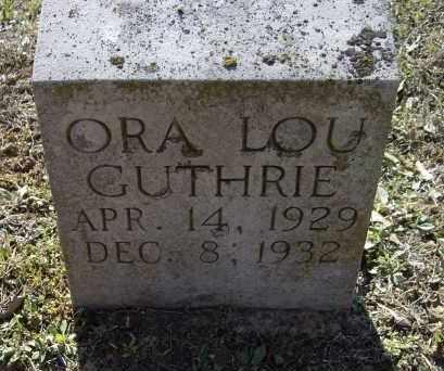 GUTHRIE, ORA LOU - Lawrence County, Arkansas | ORA LOU GUTHRIE - Arkansas Gravestone Photos