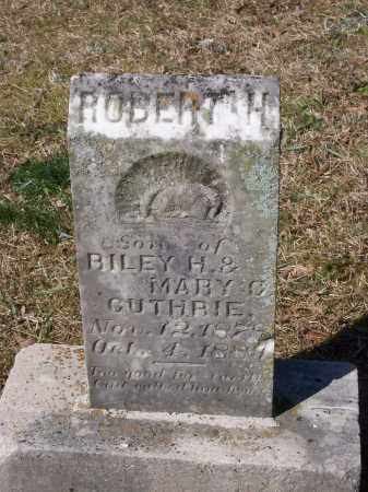 GUTHRIE, ROBERT ALFRED - Lawrence County, Arkansas | ROBERT ALFRED GUTHRIE - Arkansas Gravestone Photos