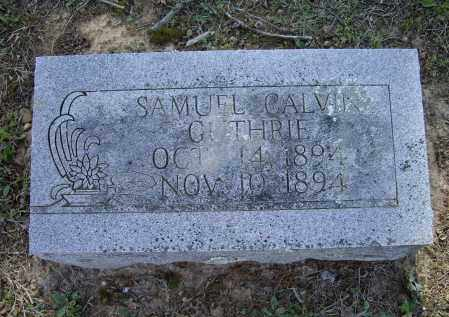 GUTHRIE, SAMUEL CALVIN - Lawrence County, Arkansas | SAMUEL CALVIN GUTHRIE - Arkansas Gravestone Photos
