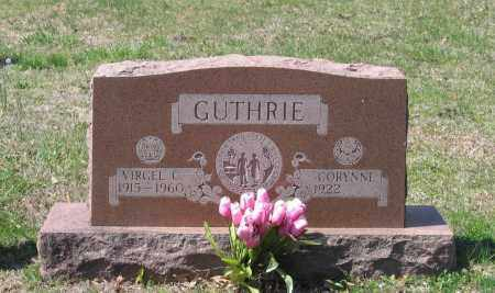 GUTHRIE, VIRGEL C. - Lawrence County, Arkansas | VIRGEL C. GUTHRIE - Arkansas Gravestone Photos