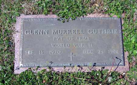 GUTHRIE (VETERAN WWII), GLENN MURRELL - Lawrence County, Arkansas | GLENN MURRELL GUTHRIE (VETERAN WWII) - Arkansas Gravestone Photos