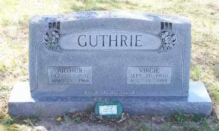 GUTHRIE, WILLIAM ARTHUR - Lawrence County, Arkansas | WILLIAM ARTHUR GUTHRIE - Arkansas Gravestone Photos