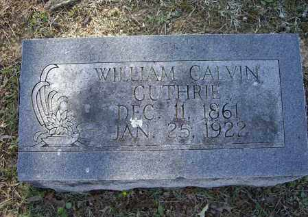 GUTHRIE, WILLIAM CALVIN - Lawrence County, Arkansas | WILLIAM CALVIN GUTHRIE - Arkansas Gravestone Photos